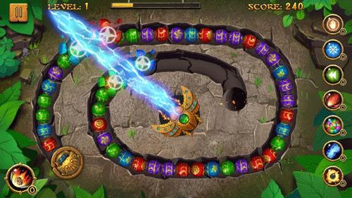 Trò chơi Jungle Marble Blast
