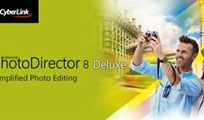 Mời tải miễn phí CyberLink PhotoDirector 8 Deluxe, phần mềm chỉnh sửa ảnh chuyên nghiệp giá 60 USD, đang miễn phí