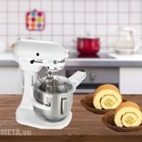 Vì sao máy trộn bột, đánh kem, trứng KitchenAid là sản phẩm mơ ước của người làm bánh?