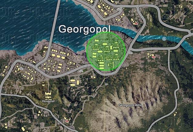 Bản đồ của Georgopol