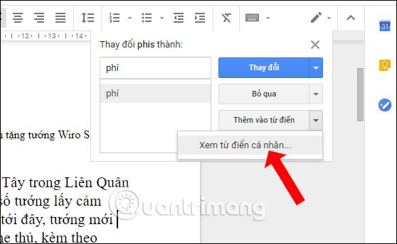 Cách kiểm tra chính tả trên Google Docs - Ảnh minh hoạ 4