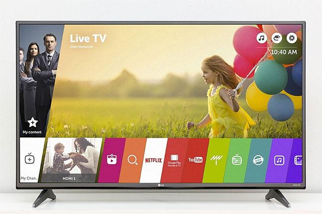 Kiểm tra thời hạn sử dụng tivi LG