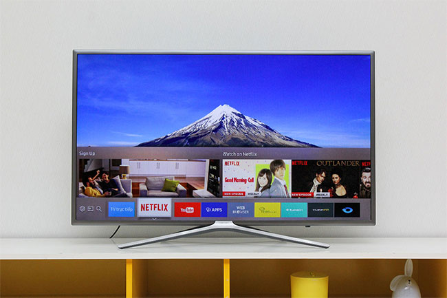 Kiểm tra thời hạn sử dụng tivi Samsung