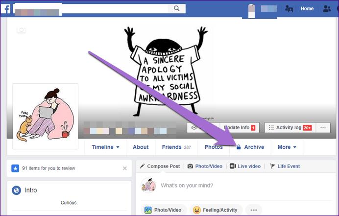 Cách sử dụng tính năng Story Archive trên Facebook - Ảnh minh hoạ 3