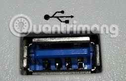 Cổng USB trên máy tính