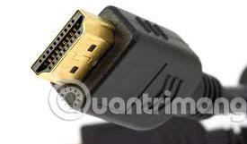 Đầu HDMI cắm vào máy tính