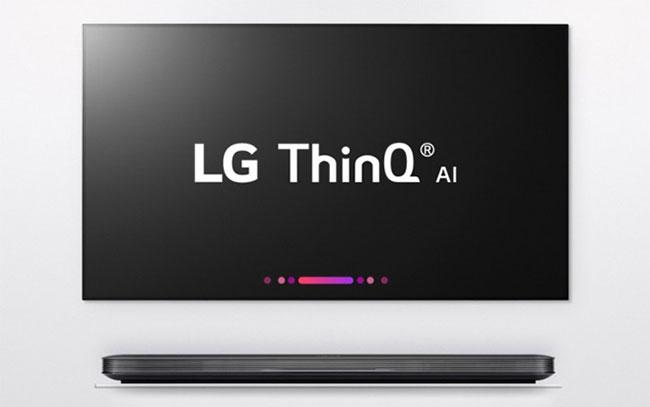 Tivi Tizen OS dòng 2018 tích hợp LG AI ThinQ