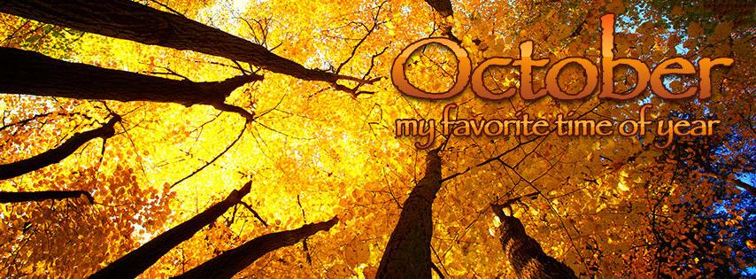 Mời tải về bộảnh bìa Facebook chào tháng 10 đẹp và ý nghĩa