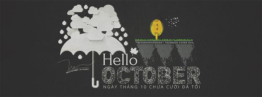 Mời tải về bộảnh bìa Facebook chào tháng 10 đẹp và ý nghĩa - Ảnh minh hoạ 20
