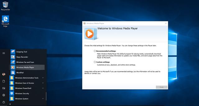 Windows Media Player vẫn còn hoạt động