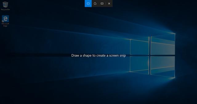 người dùng có thể dễ dàng thao tác với Snip & Sketch bằng cách sử dụng chuột