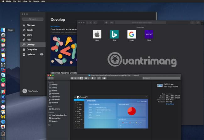 10 tính năng mới nhất của macOS Mojave - Quantrimang com