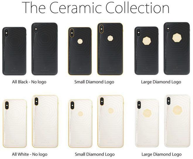 Trước đây, Brikk cũng từng cho ra mắt những chiếc iPhone XS xa xỉ bằng gốm và kim cương