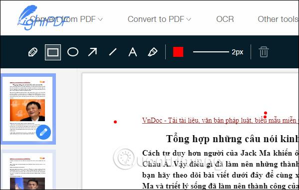 Cách chỉnh sửa file PDF trực tuyến trên LightPDF - Ảnh minh hoạ 14