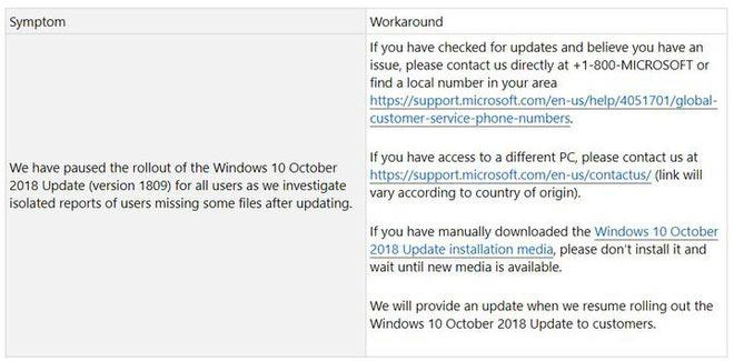 Thông báo của Microsoft