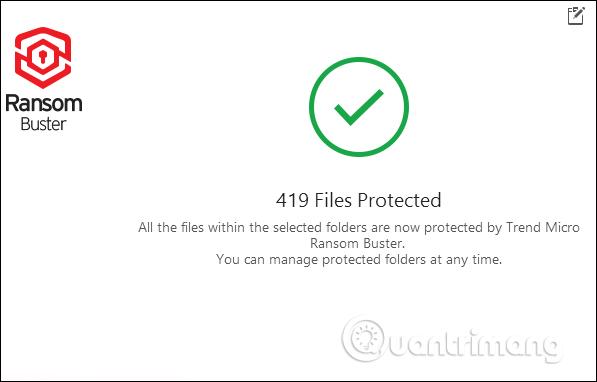 Cách dùng Trend Micro RansomBuster chặn ransomware - Ảnh minh hoạ 11