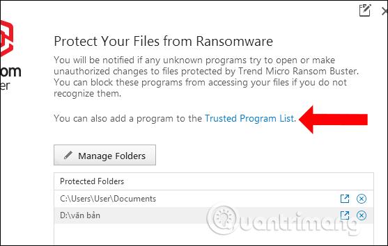 Cách dùng Trend Micro RansomBuster chặn ransomware - Ảnh minh hoạ 12