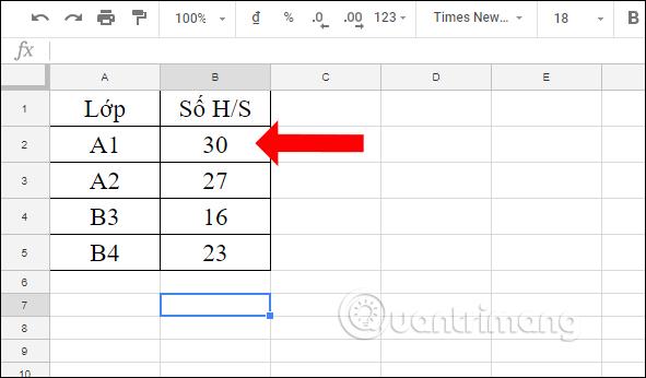 Cách tính tổng trên nhiều sheet Google Sheets - Ảnh minh hoạ 2