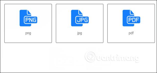 Lựa chọn định dạng file đích