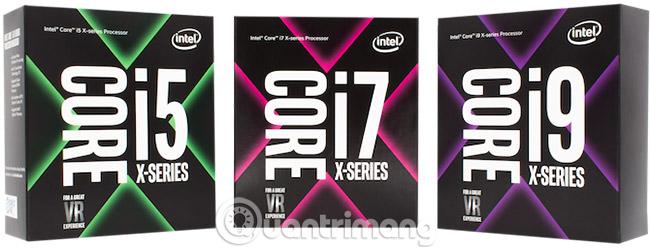 Core i5, i7 và i9