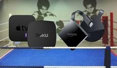So sánh Chromecast Ultra, Apple TV 4K, Roku Ultra và Amazon Fire 4K