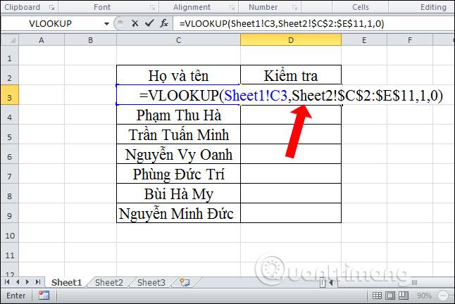 Cách lọc dữ liệu trùng nhau trên 2 sheet Excel - Ảnh minh hoạ 11