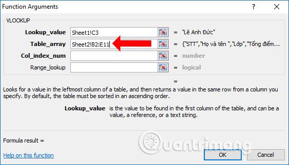Cách lọc dữ liệu trùng nhau trên 2 sheet Excel - Ảnh minh hoạ 6