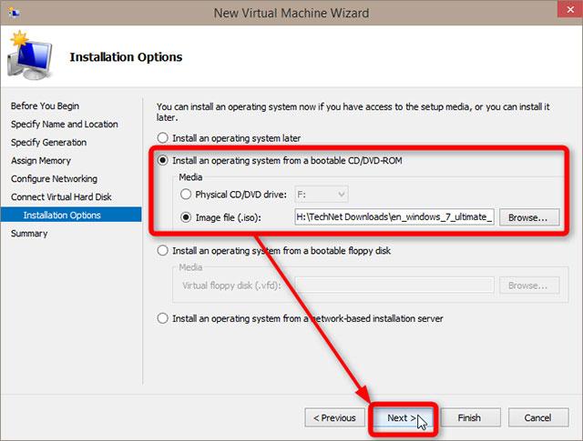 Cách thiết lập và sử dụng Hyper-V trong Windows 10 để cài đặt các hệ điều hành ảo 26