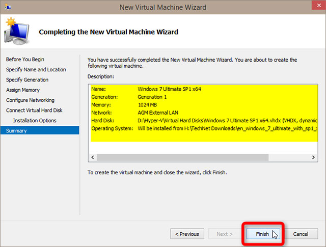 Cách thiết lập và sử dụng Hyper-V trong Windows 10 để cài đặt các hệ điều hành ảo 27