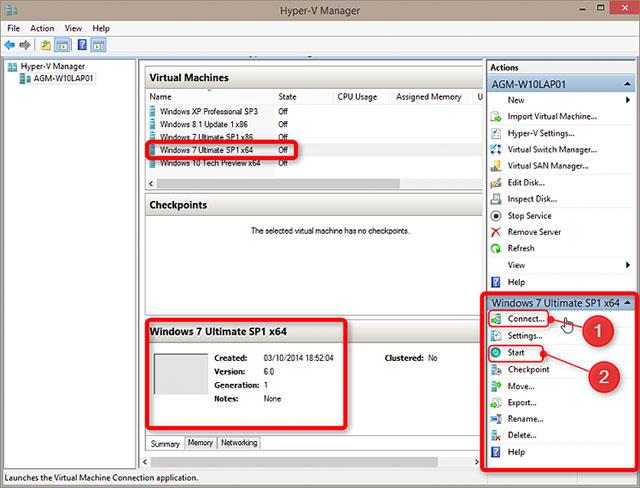 Cách thiết lập và sử dụng Hyper-V trong Windows 10 để cài đặt các hệ điều hành ảo 28