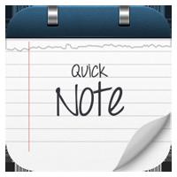 Cách chia sẻ nhanh văn bản với QuickNote