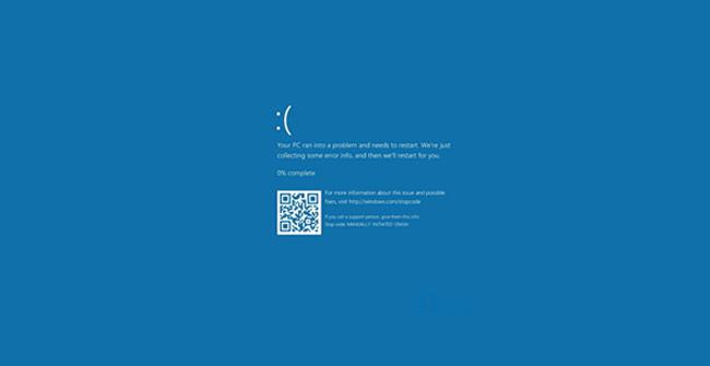 Lỗi màn hình xanh chết chóc