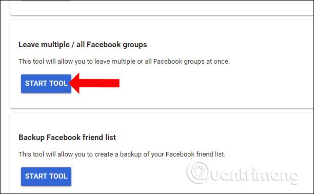 Công cụ thoát nhóm Facebook