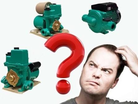 Khi mua máy bơm nước, cần cân nhắc kỹ công suất thích hợp để tránh lãng phí.