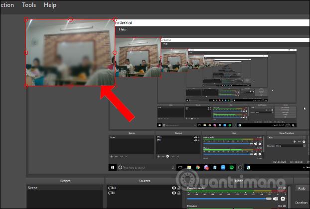 Chỉnh màn hình webcam