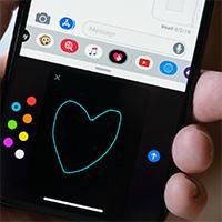 Cách sử dụng tính năng Digital Touch trong iMessage