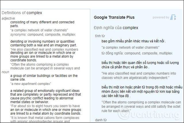 Dịch ví dụ