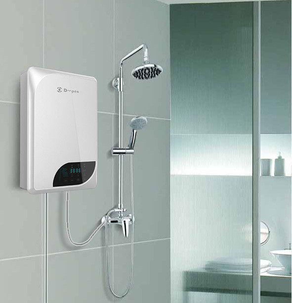 Đối với những phòng tắm rộng thì phù hợp lắp bình nước nóng gián tiếp.