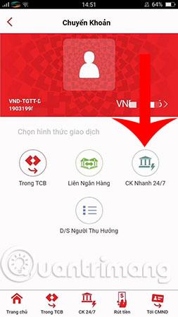 Hướng dẫn sử dụng F@st Mobile của Techcombank