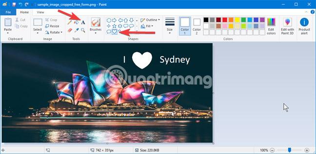 Toàn tập cách sử dụng Paint để chỉnh sửa ảnh trên Windows