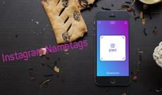 Cách tạo thẻ tên trên Instagram