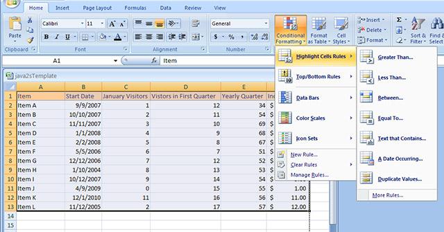 MS Excel 2007 - Bài 11: Định dạng văn bản