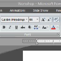 MS PowerPoint 2007 - Bài 5: Định dạng văn bản trong PowerPoint