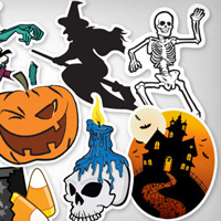 Mời tải 10 gói sticker Halloween dành cho iMessage, đang được miễn phí