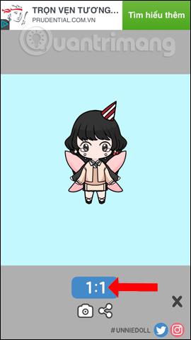 Cách tạo avatar chibi Facebook bằng Unnie doll - Ảnh minh hoạ 14