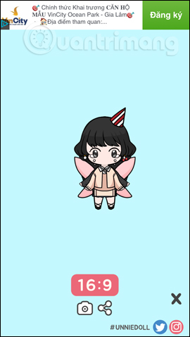 Cách tạo avatar chibi Facebook bằng Unnie doll - Ảnh minh hoạ 15