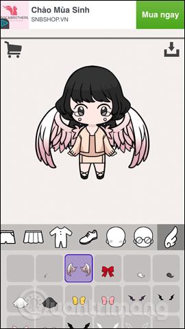 Cách tạo avatar chibi Facebook bằng Unnie doll - Ảnh minh hoạ 7