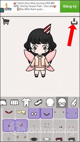 Cách tạo avatar chibi Facebook bằng Unnie doll - Ảnh minh hoạ 8