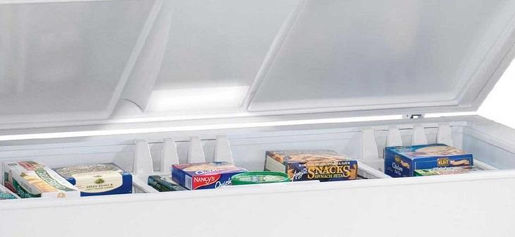 Tủ đông không sáng đèn