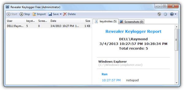Top 10 phần mềm Keylogger miễn phí tốt nhất với Windows - Ảnh minh hoạ 5